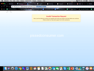 Dfa Passport Appointment System - URGENT: ERROR ON THE WEBSITE - appointment code not given