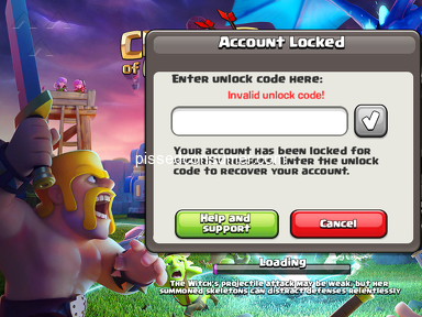 Supercell - My account is blocked