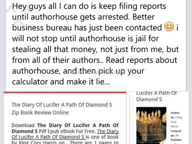 Authorhouse - Publishing Service Review from Hammond, Louisiana