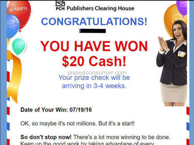Publishers Clearing House Sweepstakes review 277434