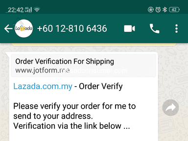 Lazada Malaysia - My account being *** This my order number 208028176808871