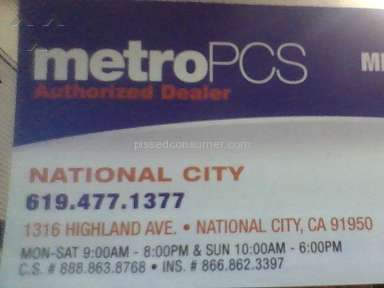 Metropcs - Extremely Poor customer service