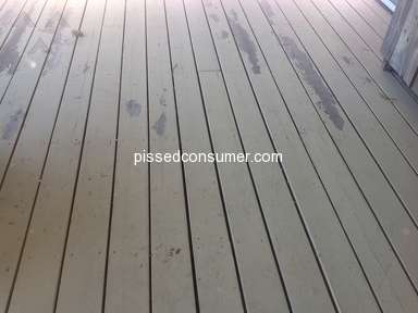 Behr - Bahr Deckover did not make it past first winter!