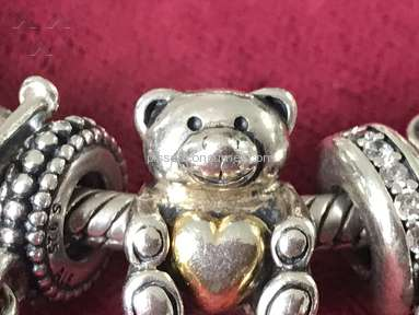 Pandora Jewelry Bear My Heart Charm review 239792