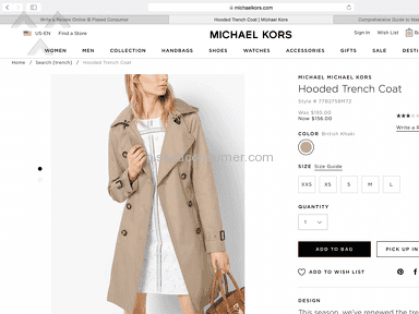 Michael Kors Customer Care review 211528