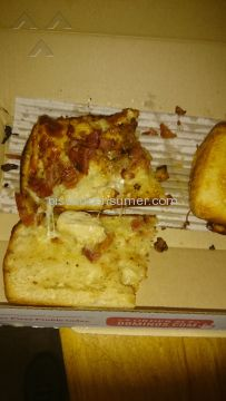 Dominos Pizza Chicken Bacon Ranch Sandwich