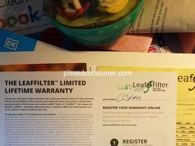 LeafFilter North Gutter Installation review 814860