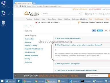 Ashley Furniture Manager review 209586