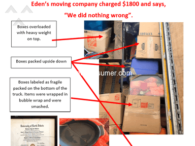 Edens Moving Services - Kansas City to Salt Lake City