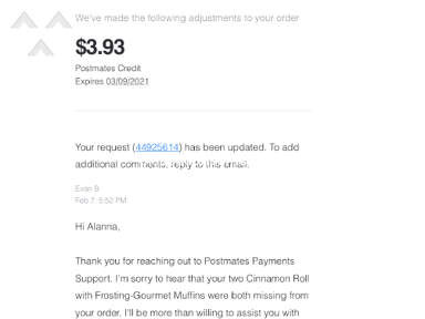 Postmates Food Delivery review 921892