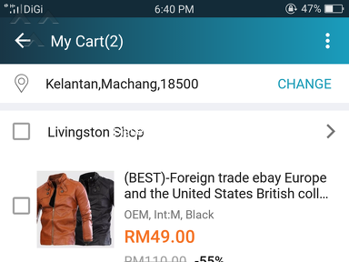 Lazada Malaysia - Saya kena tipu..beli baju dihantarnya cincin besi