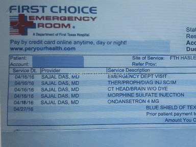 First Choice Emergency Room Emergency Service review 131973
