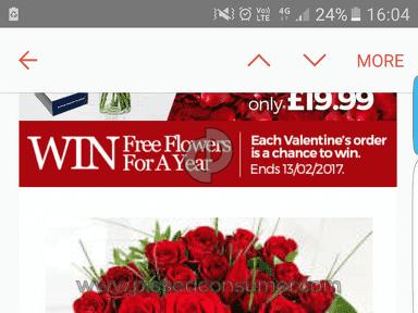 Prestige Flowers Roses Flowers review 192470
