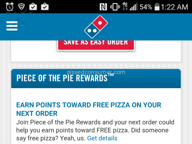 Dominos Pizza Pizza review 114807