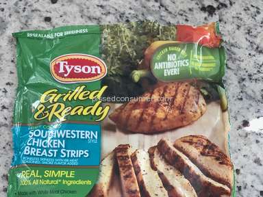 Tyson Foods - 22oz Grilled and Ready southwestern chicken strips