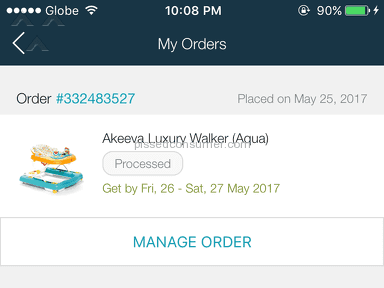Lazada Philippines Shipping Service review 210098
