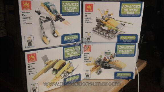 Wange Advanced Military Model Building Kit