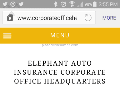 Elephant Insurance Services Auto Claim Review from Houston, Texas