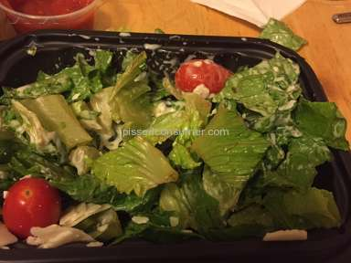 Wendys Caesar Salad review 164678