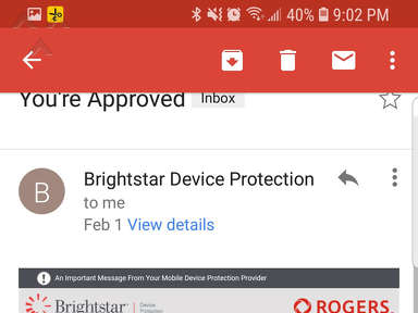 Brightstar Device Protection - Fraud company, approved my device took money and then decliened and said your phone is too expensive