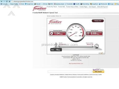 Frontier Communications Internet Service review 24977