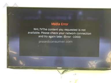 Nhl Tv - NHLTV is useless and run by criminals