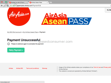 Air Asia Flight Booking review 113597