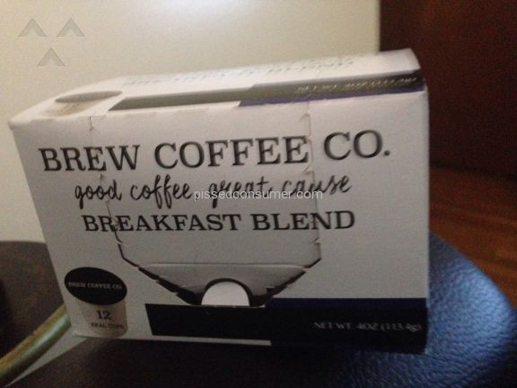 Brew Coffee Co Breakfast Blend Coffee Pods