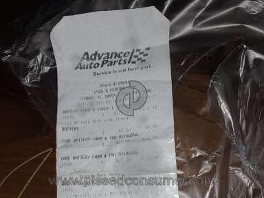 Advance Auto Parts Autocraft Marine Battery review 328892