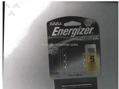 Energizer doesn't honor its 5-year warranty on its battery packages!