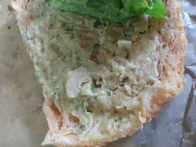 Panera Bread Mediterranean Veggie Sandwich review 262444