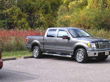 2010 Ford F150 Super Crew Cab Pickup Truck