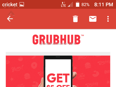 Grubhub Delivery Service review 256306