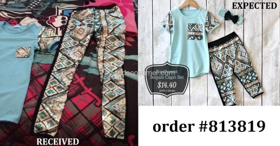 Screaming Owl Southwest Sequin Capri Set Outfit