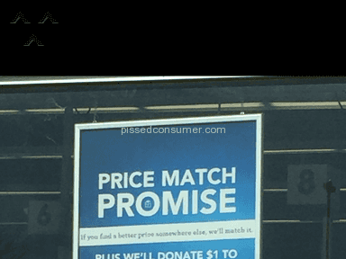 Toys R Us - Price match