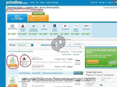Priceline Travel Agencies review 57479