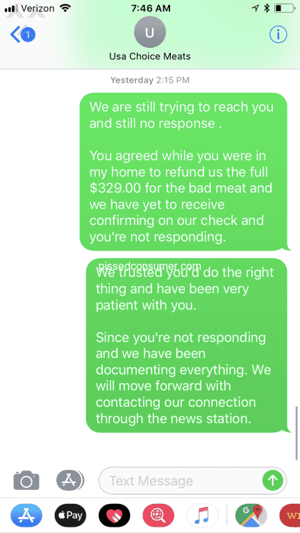 usa choice foods scammers