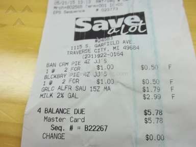 Save A Lot - We Bought a Gallon of Milk