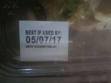 Walmart Marketside Chicken Caesar Salad review 206388