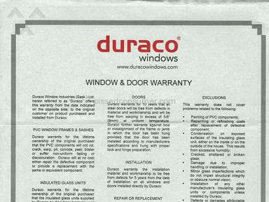 Duraco Windows Window review 278454