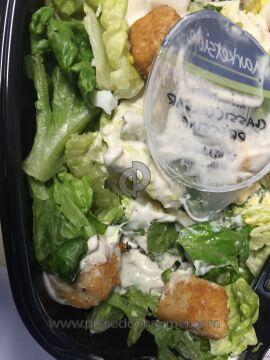 Walmart Chicken Caesar Salad