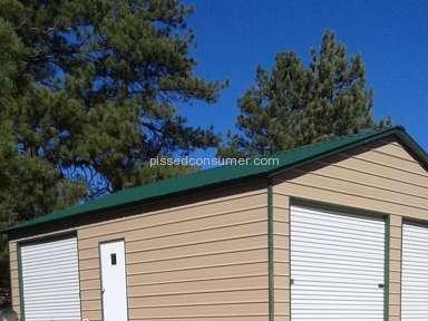 Eagle Carports - Garage Construction Review from Westcliffe, Colorado