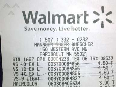 Walmart Cashier review 33641