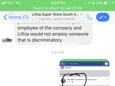 Lithia Motors - Discrimination against lgbt community