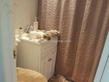 Morgan Properties - Complete Bathroom Collapse with No Resolution or Visit from Management for Three Weeks.