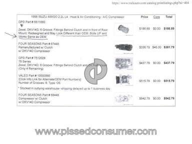 Rockauto Equipment review 77921