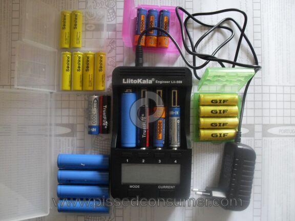 Liitokala Battery Charger