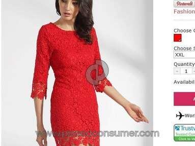 Fashionmia Dress review 174294