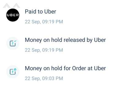 Uber Taxi Service review 772671