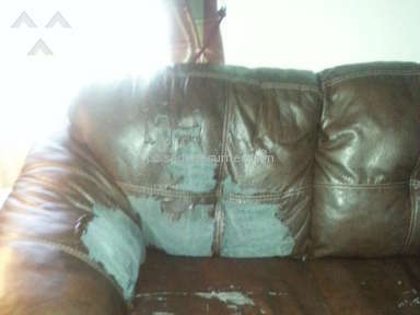 Ashley Furniture Bought Durablend Leather Couch And
